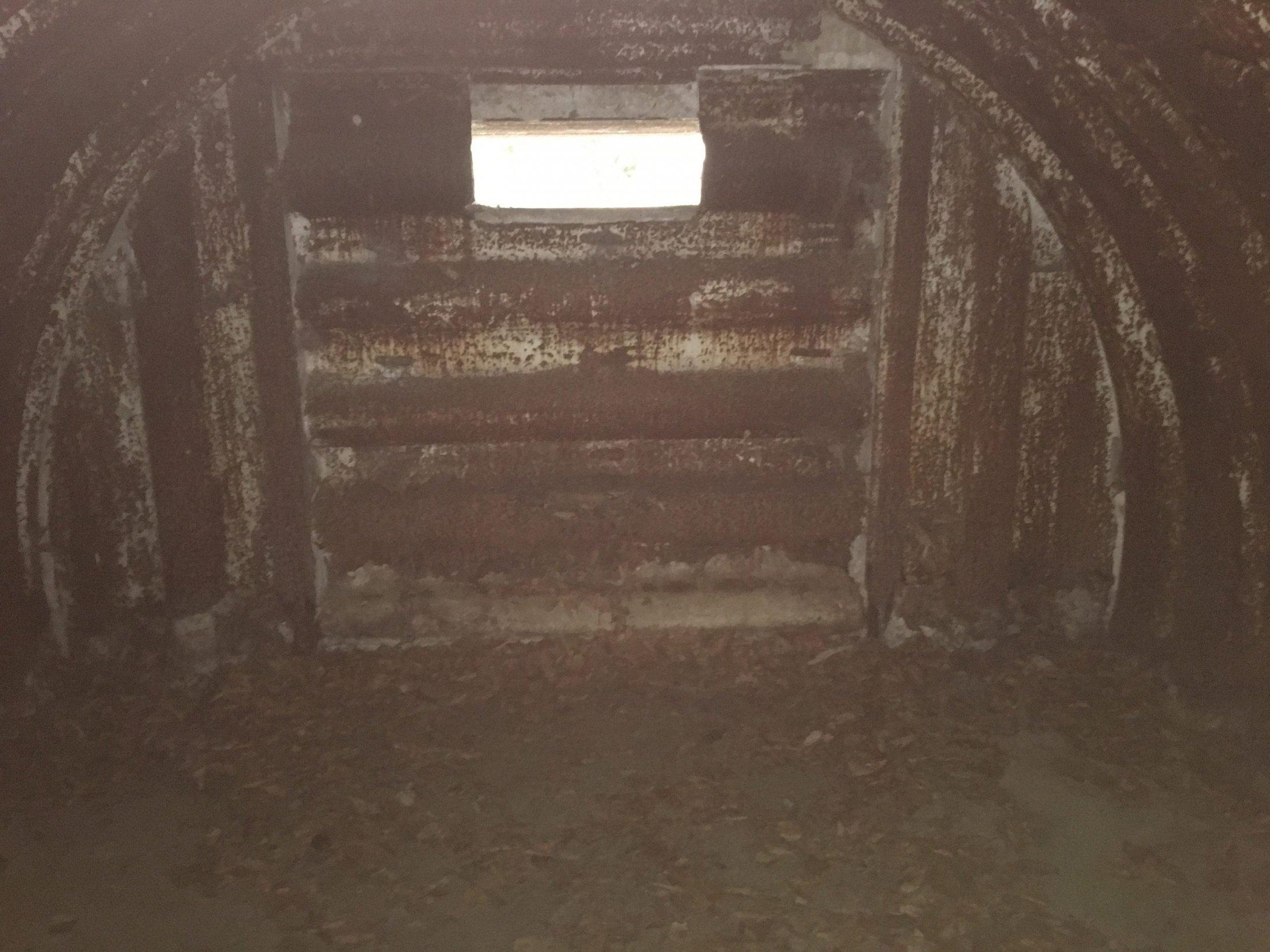Inside St Eloi Crater N03 Bunker