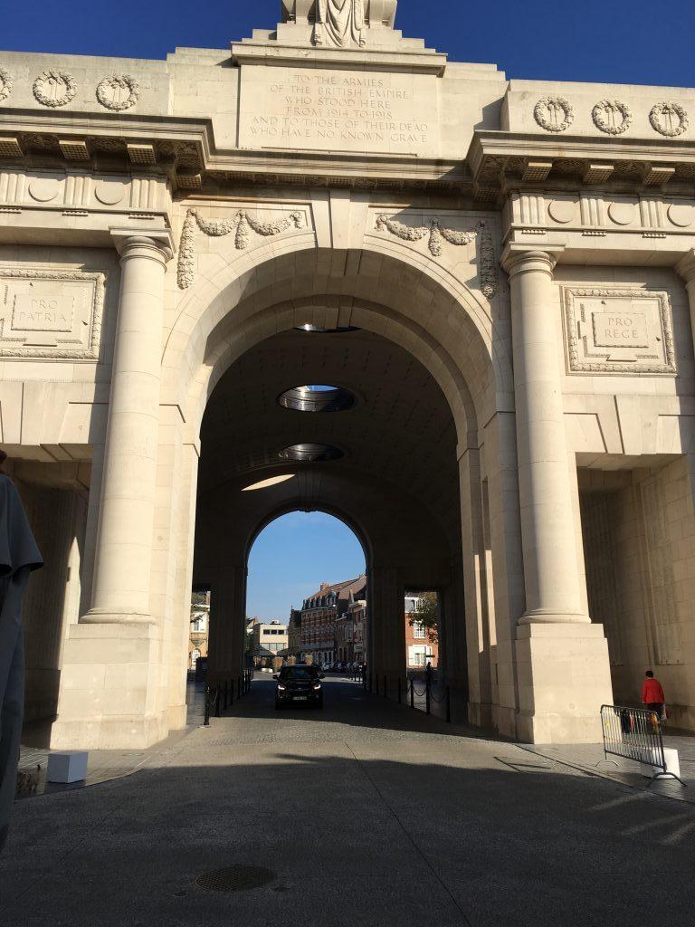 Looking Through the Menin Gate