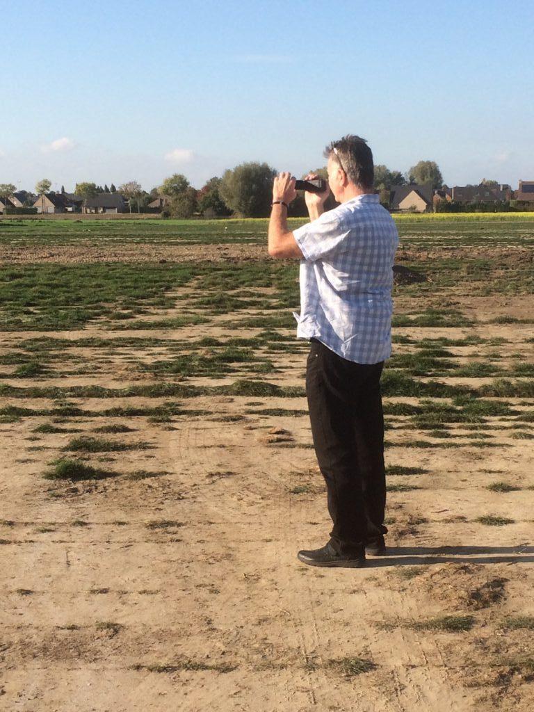 Steve in the Field