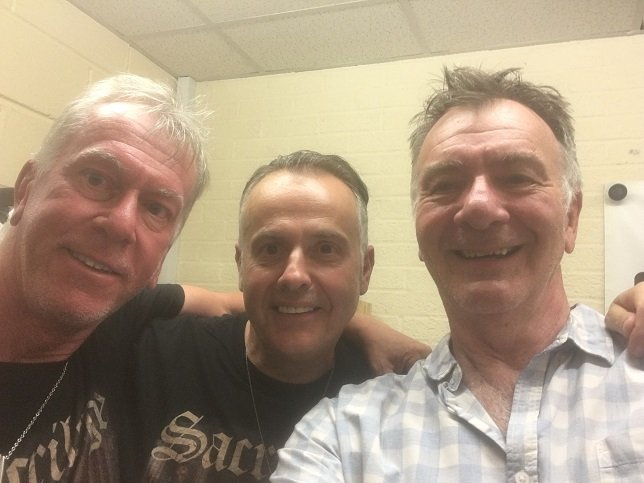 Steve With Bill & Neil of Sacrilege