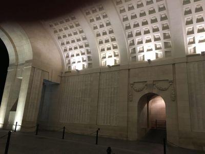 Inside Menin Gate
