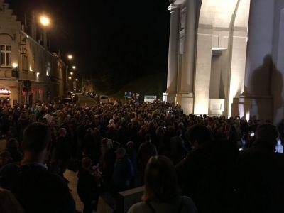 Menin Gate Crowd