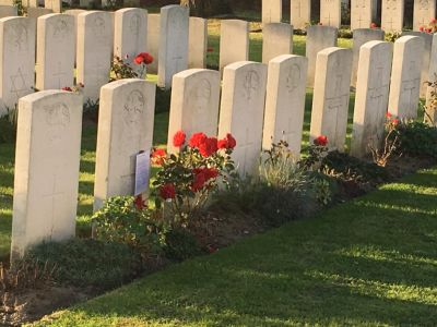 Row of Graves 2018