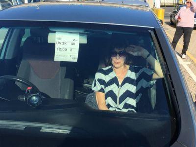 Sue in Car Dover 2018